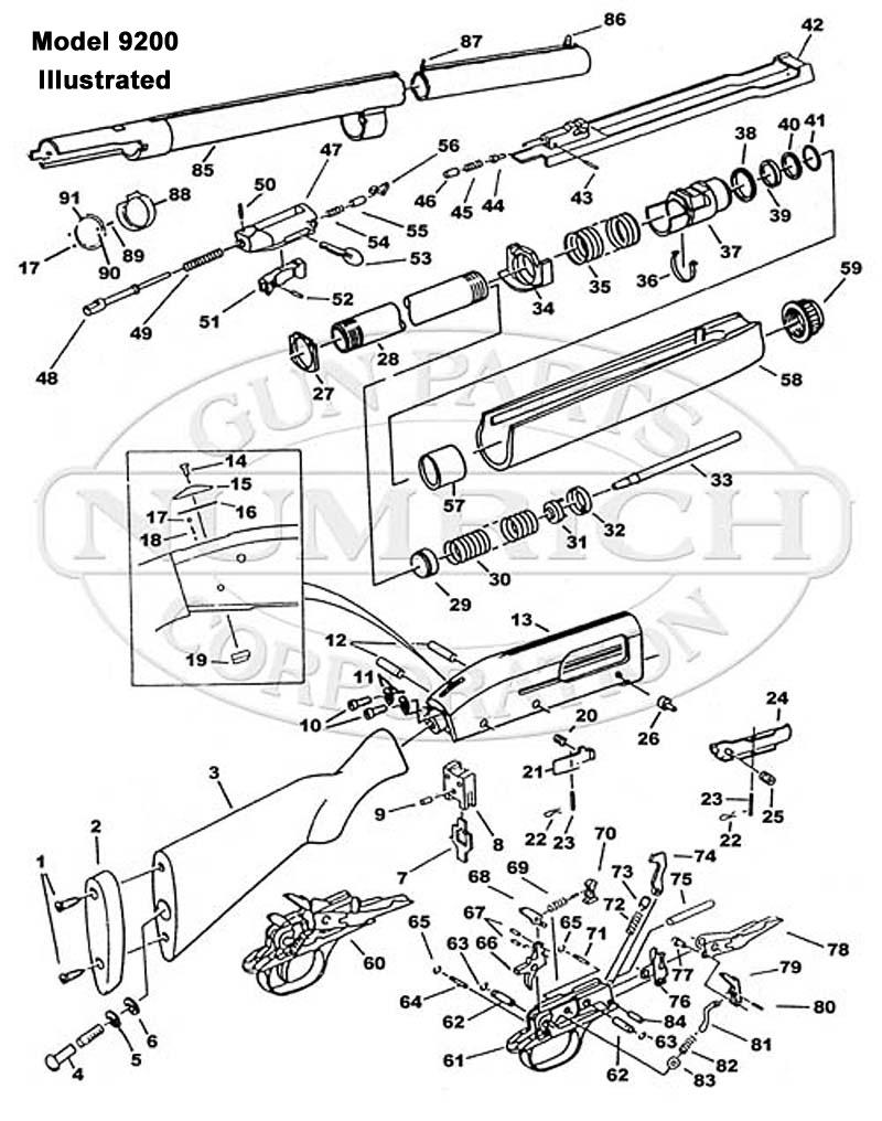 5500 MKII. Accessories   Numrich Gun Parts