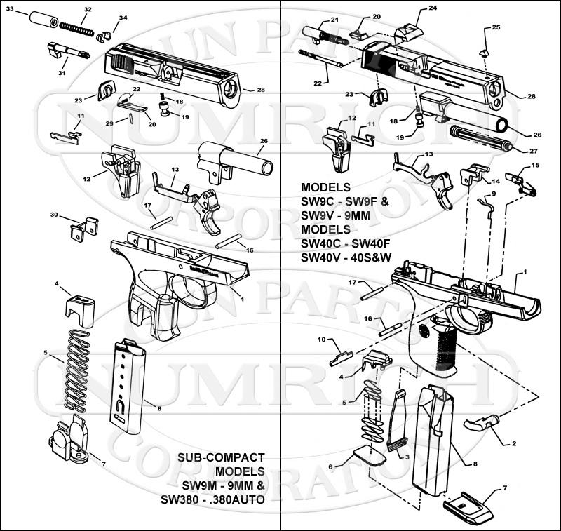 SW40F. Accessories | Numrich Gun Parts