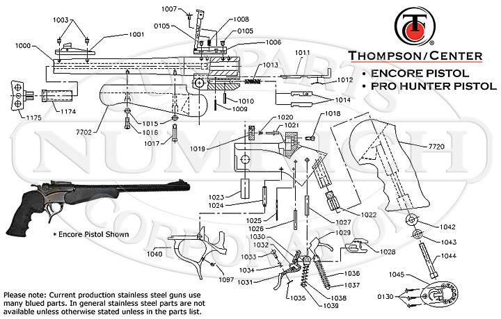 ENCORE PISTOL Accessories | Numrich Gun Parts