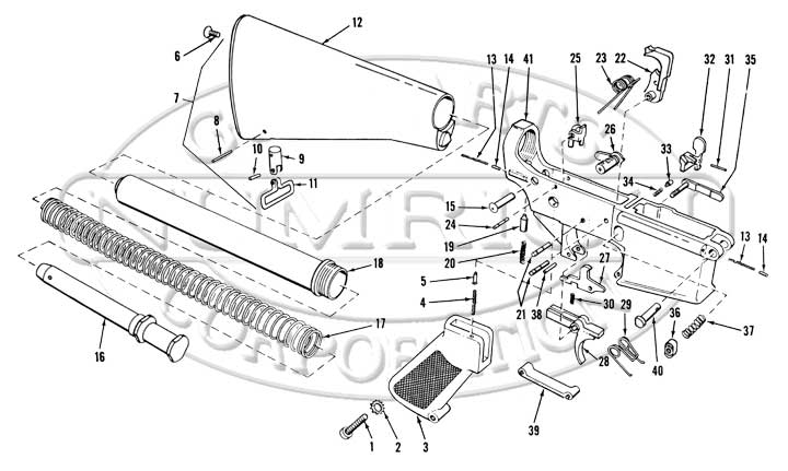 m4 airsoft gun parts diagram  m4  free engine image for
